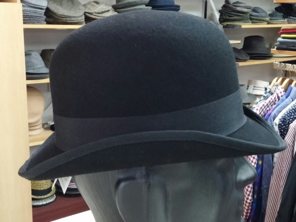 808af2caf92 20150707 143148-1 (Medium). Hills Hats Bowler. Style  9860. Wool Felt